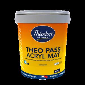Theo Pass Acryl Mat Théodore Bâtiment